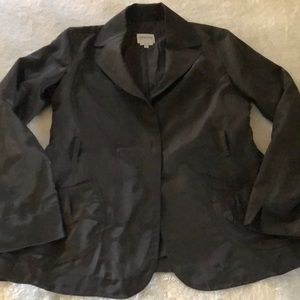 Armani collezioni grey brown jacket sz 8 med